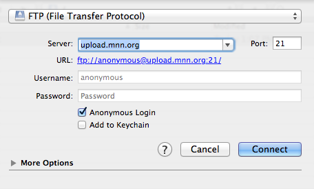 anonymous login
