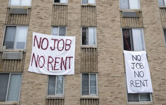 no job no rent