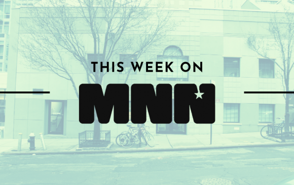 This Week on MNN 59th Street Location Exterior as Background