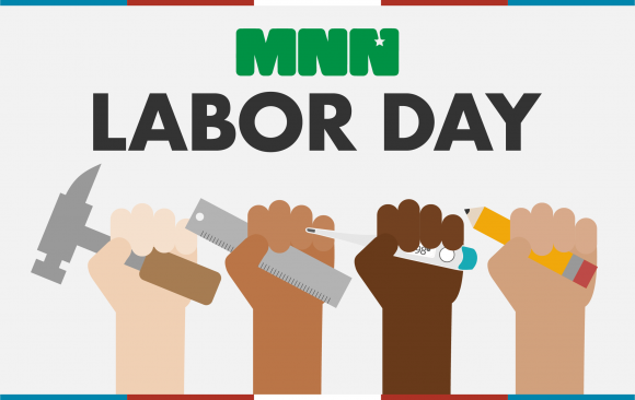 Labor Day, hands with tools