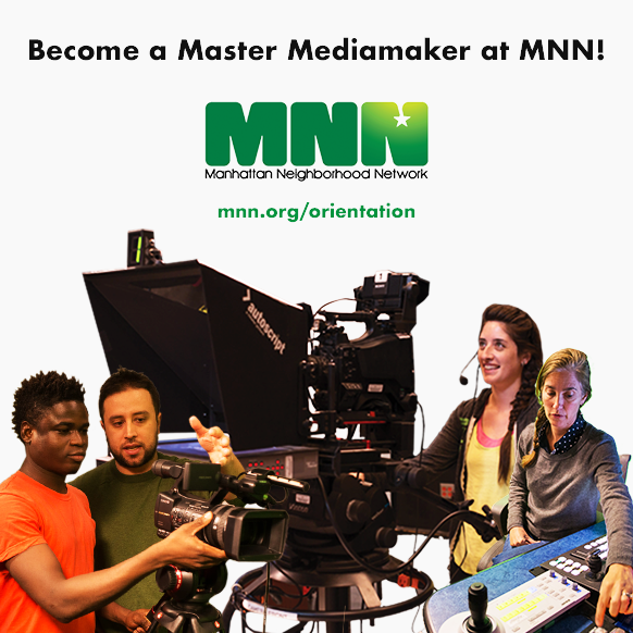 People using cameras, studios, and control room at MNN